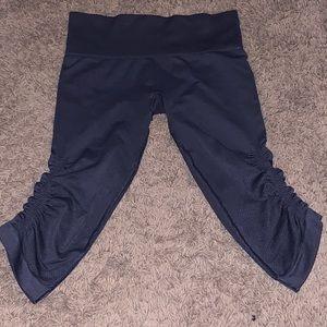 Lululemon Athletica dark gray compression leggings